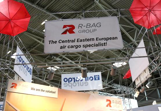 R-BAG booth at Air Cargo Europe MUC 2017