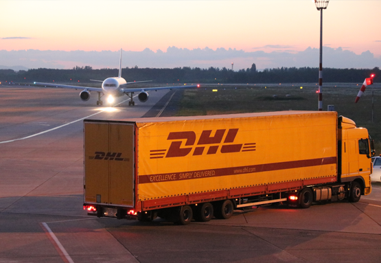 DHL Express at new warehouse BUD